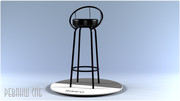 Барные стулья на металлокаркасе - foto 3