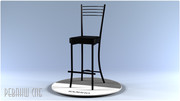 Барные стулья на металлокаркасе - foto 9